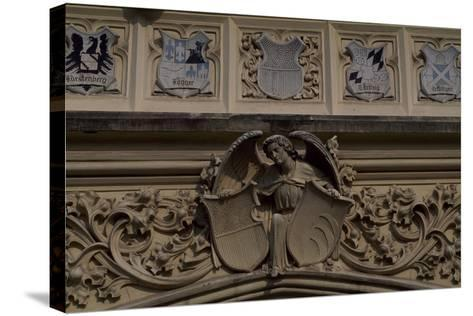 Relief Decoration, Detail from Lednice Castle--Stretched Canvas Print