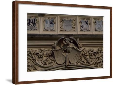 Relief Decoration, Detail from Lednice Castle--Framed Art Print
