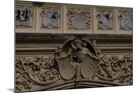 Relief Decoration, Detail from Lednice Castle--Mounted Photographic Print