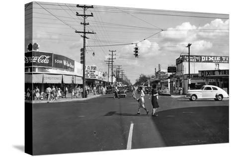 Allapattah Boulevard--Stretched Canvas Print