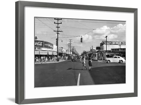 Allapattah Boulevard--Framed Art Print