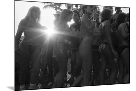 Spring Breakers, 1985--Mounted Photographic Print