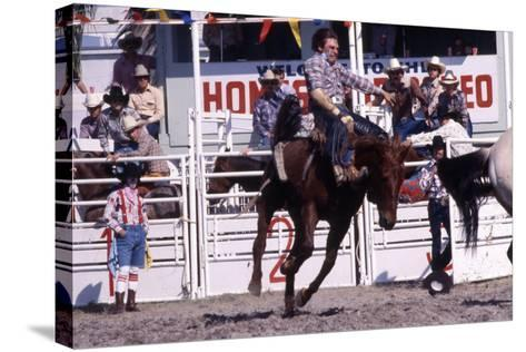 Homestead Rodeo, C.1985--Stretched Canvas Print