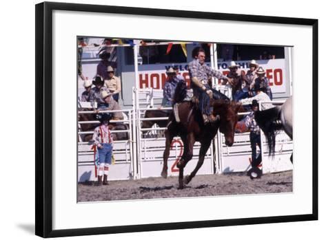 Homestead Rodeo, C.1985--Framed Art Print