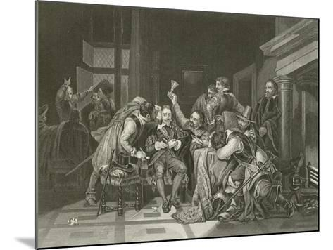 Charles the First in the Guard Room-Hippolyte Delaroche-Mounted Giclee Print