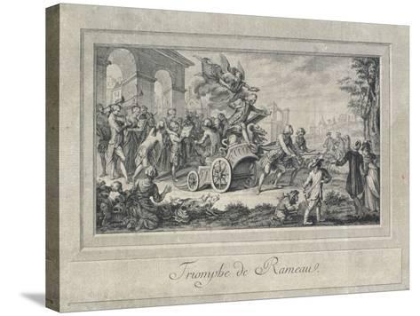 The Triumph of Jean Philippe Rameau--Stretched Canvas Print
