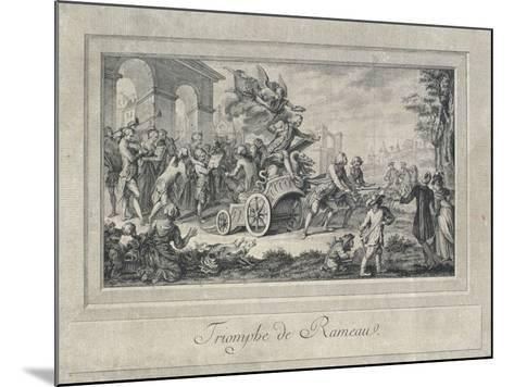 The Triumph of Jean Philippe Rameau--Mounted Giclee Print