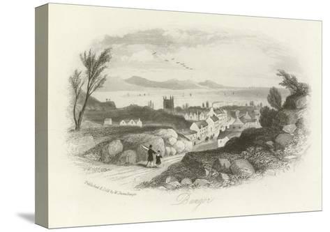 Bangor, North Wales--Stretched Canvas Print
