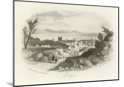 Bangor, North Wales--Mounted Giclee Print