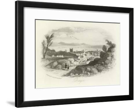 Bangor, North Wales--Framed Art Print