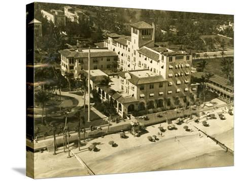 The Pancoast Hotel, Miami Beach, 1933--Stretched Canvas Print