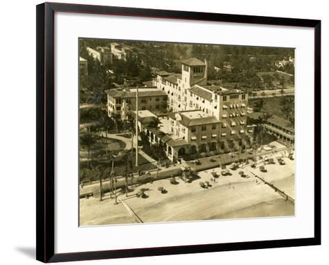 The Pancoast Hotel, Miami Beach, 1933--Framed Art Print