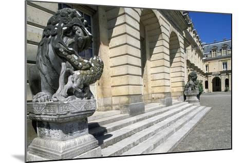 Fontana Court, Palace of Fontainebleau--Mounted Photographic Print