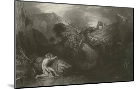 Apollo Killing the Python-J^ M^ W^ Turner-Mounted Giclee Print