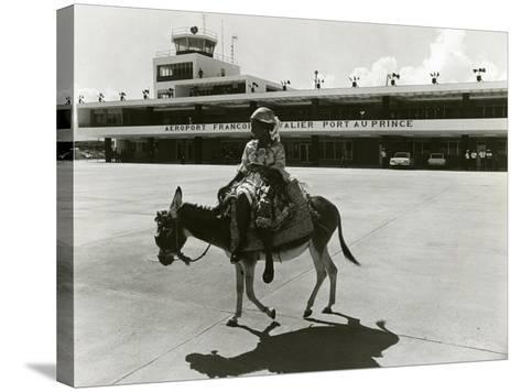 Port-Au-Prince Airport, Haiti, C.1965--Stretched Canvas Print