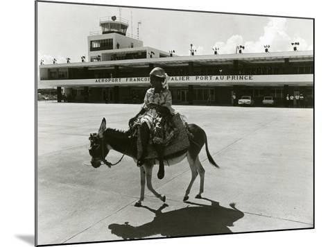 Port-Au-Prince Airport, Haiti, C.1965--Mounted Photographic Print