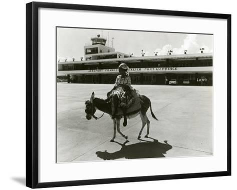 Port-Au-Prince Airport, Haiti, C.1965--Framed Art Print