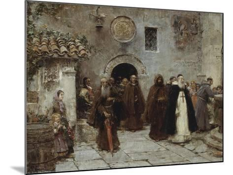 The Procession-Jose Benlliure Y Gil-Mounted Giclee Print