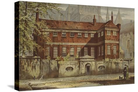 Ashburnham House, Dean's Yard, Westminster-Waldo Sargeant-Stretched Canvas Print