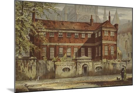 Ashburnham House, Dean's Yard, Westminster-Waldo Sargeant-Mounted Giclee Print