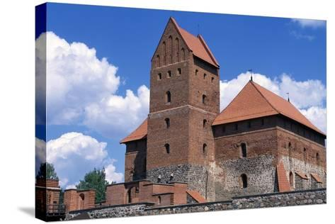 Gothic Castle of Trakai--Stretched Canvas Print
