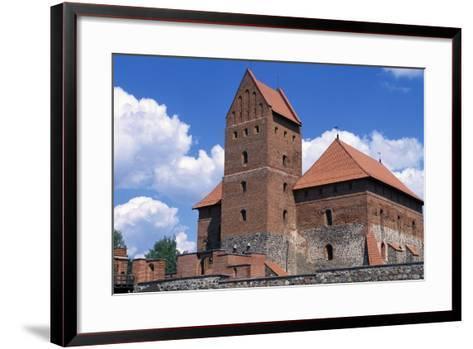 Gothic Castle of Trakai--Framed Art Print