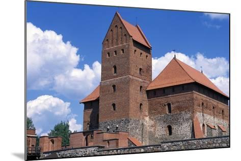 Gothic Castle of Trakai--Mounted Giclee Print