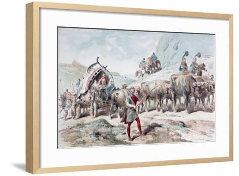 Nervian Cart, 1886-Armand Jean Heins-Framed Art Print