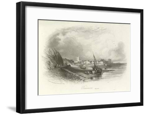 Beaumaris, Anglesey, Wales--Framed Art Print