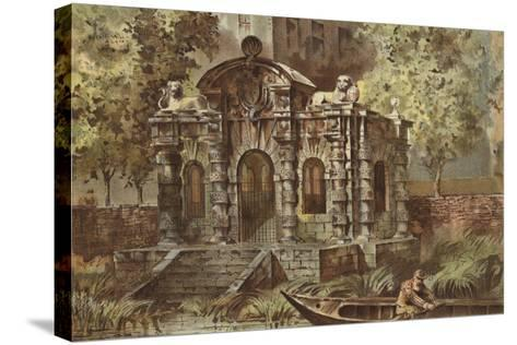 York House-Waldo Sargeant-Stretched Canvas Print