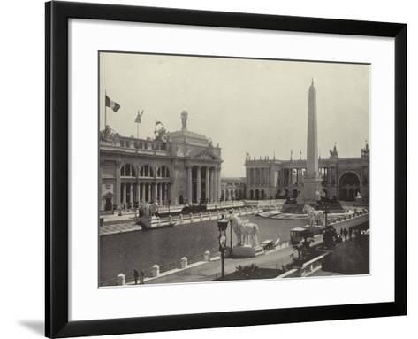 The Obelisk--Framed Art Print