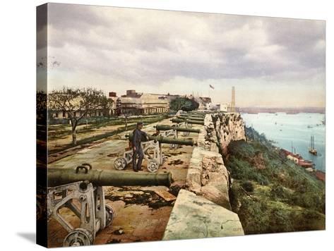 El Parapeto De La Cabaña, Habana, 1900--Stretched Canvas Print