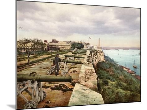 El Parapeto De La Cabaña, Habana, 1900--Mounted Giclee Print