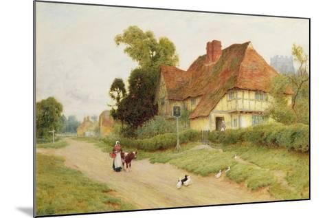 The Village Inn-Arthur Claude Strachan-Mounted Giclee Print