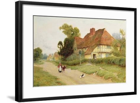 The Village Inn-Arthur Claude Strachan-Framed Art Print