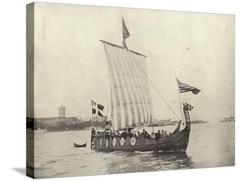 The Viking Ship--Stretched Canvas Print