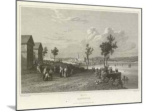 Mayence-William Tombleson-Mounted Giclee Print