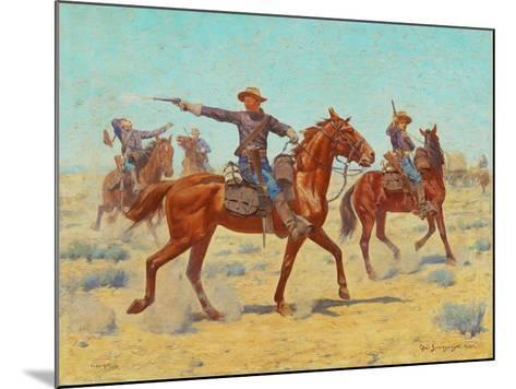 The Rear Guard, 1907-Charles Schreyvogel-Mounted Giclee Print