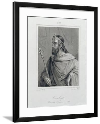 Caribert or Charibert-Jean Joseph Dassy-Framed Art Print