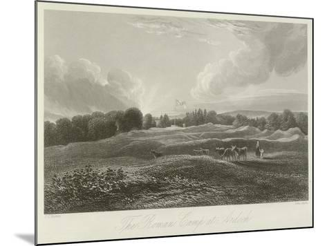 The Roman Camp at Ardoch--Mounted Giclee Print