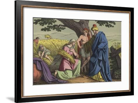 Ruth and Boaz--Framed Art Print