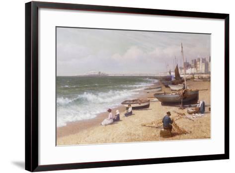 Brighton Beach-Alexander Young-Framed Art Print