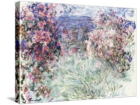 The House Among the Roses, 1925-Claude Monet-Stretched Canvas Print