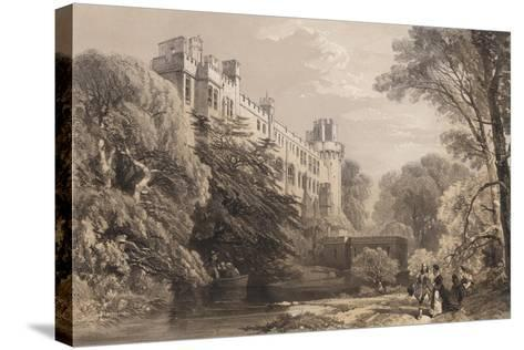 Warwick Castle, Warwickshire--Stretched Canvas Print