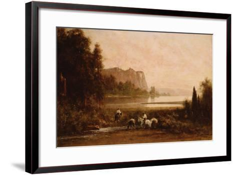 Trappers in Yosemite Mountains, 1899-Thomas Hill-Framed Art Print