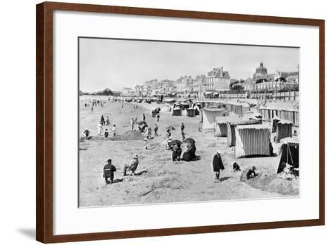 Les Sables-D'Olonne, C.1900--Framed Art Print