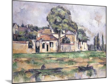 Banks of the Marne, 1888-Paul C?zanne-Mounted Giclee Print
