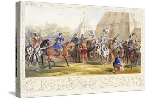 The Challenge, 1843-James Henry Nixon-Stretched Canvas Print