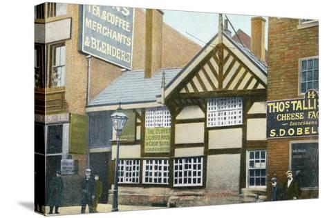 The Seven Stars Inn, Manchester, 1906--Stretched Canvas Print
