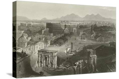 Ruins of Ancient Rome--Stretched Canvas Print